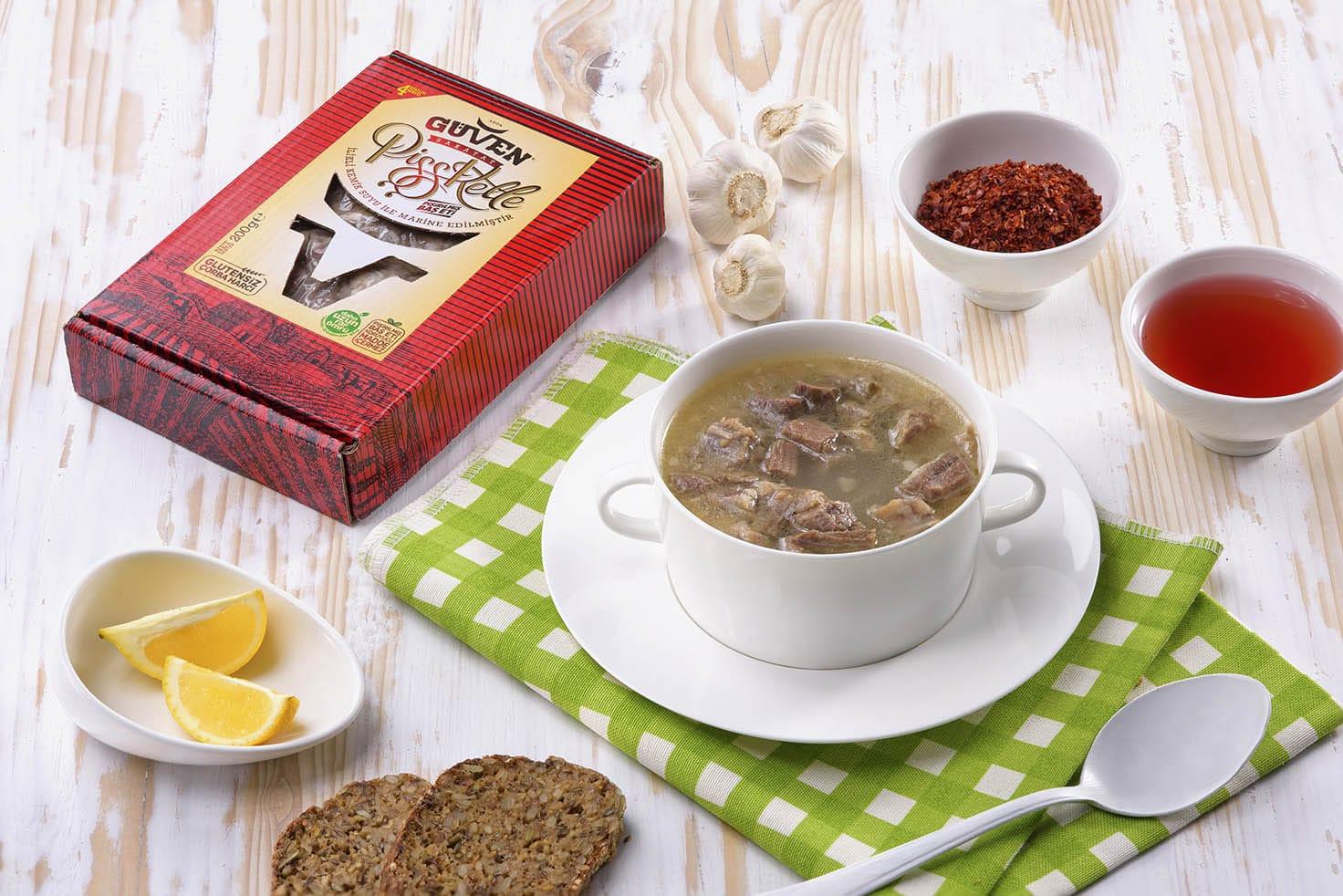 Pişşkelle - Hazır Pişmiş Kelle Paça Çorbası